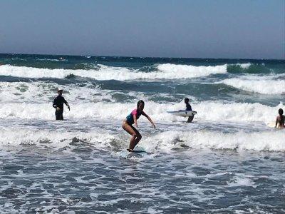 Surfing camp 1 week in Huelin