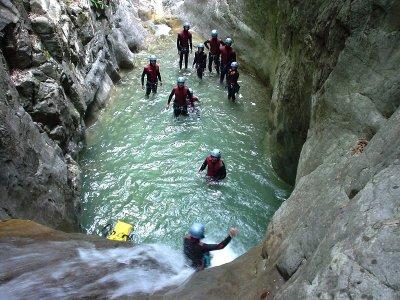 Barranquismo en Pirineo de Huesca nivel II