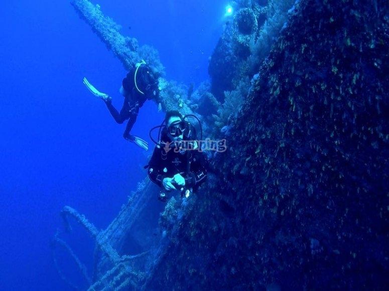Sul fondo del mare di Candas