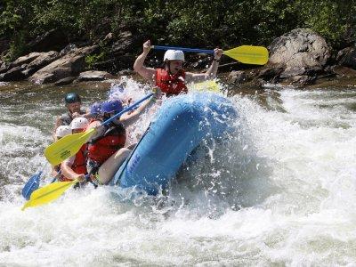 Rafting en cañón del río Gallego nivel III, 1 día