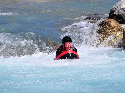 Descenso en hidrospeed en río, Murillo de Gallego