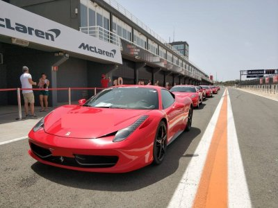 1 Lap in Ferrari 458 + Helicopter in Montmeló