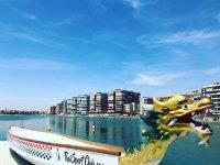 Dragon boat en el Mediterraneo