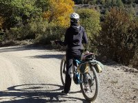 By bike along the roads of Calaf