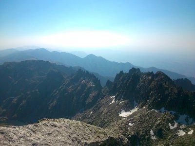 Climbing to Almanzor Peak, Half a Day