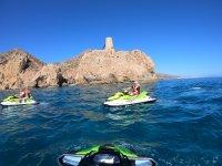 Getting to know Cabo de Gata on a jet ski