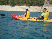 Do you know how to sail in a kayak?