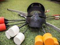 Material para la partida de archery tag