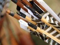 tiro con l'arco tradizionale