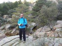 Excursionista con camara