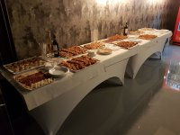 Appetizers for farewell in Madrid