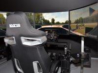 Seat in the simulator
