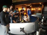 Farewell in simulator in Madrid
