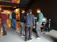 Farewell group in simulator