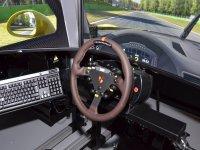 Steering wheel of the simulator