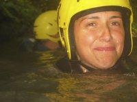 aquatic speleology