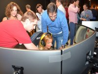 Giving instructions in the simulator