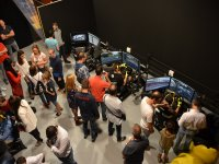 Company day with competition simulators