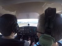 Starting the flight