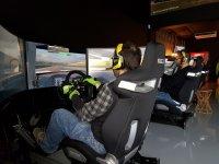 Simulator competition car