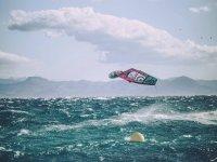 Tarifa的专业帆板运动