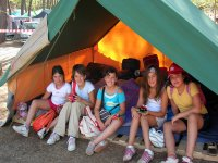 Un camping muy especial