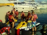 Previous briefing about jet skis