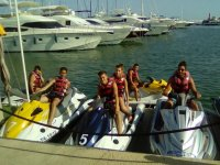 Ready for the group jet ski trip