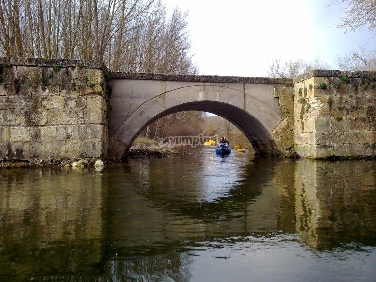 河上的桥梁