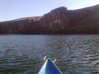 Vista desde la canoa