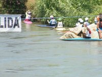 competition of canoeing