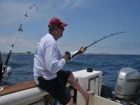 Disfrutando de una jornada de pesca en Orihuela