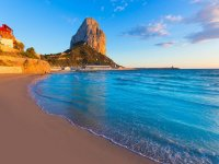 Views of Calpe on the Costa Blanca