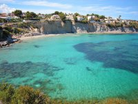 Turquoise waters of the Costa Blanca