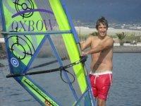 Avanzando en el windsurf en Canarias