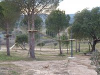 vista de un parque tematico al aire libre