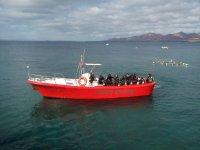 Barca per immersioni subacquee