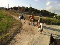 Itineraries on horseback