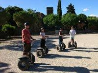 Visitando el parque catalan en segway