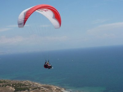 Volo in parapendio in foto e video di Santa Pola