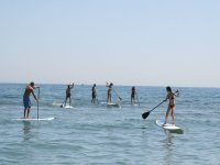 First contacts with the board and paddle Costa Dorada