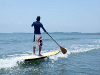 Feel the breeze of the Costa Dorada mounted on the board