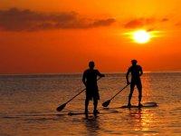 Paddle Surf al tramonto da L'Ametlla de Mar