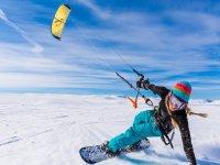 Iniciación al snowkite