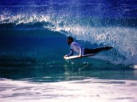 Learning surfing
