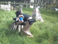 capitan en paintball