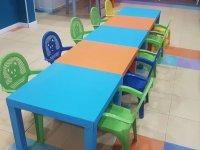 Mesas para las celabraciones de los peques