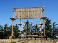 Instalaciones del parque de cuerdas