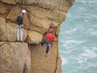 Sesion de escalada en Los Urros