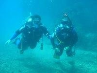 buceo por el fondo del mar